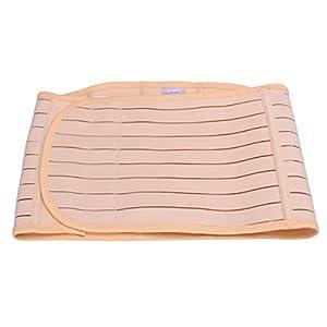 ROSENICE Bauchgurt Elastischer Stützgürtel Bauchgürtel Damen Bauchband Postpartale Unterstützung Größe L (Hautfarbe)