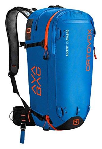 Ortovox Erwachsene Ascent 30 Avabag (Incl. Unit) Skitourenrucksack, Blue Ocean, 57 x 27 x 20 cm