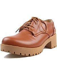 Sandalette-DEDE Ladies Casual Shoes, Casual Suelas y Calzado Casual,Amarillo,Treinta y Siete