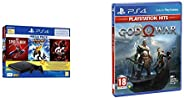 PS4 1TB Slim Bundled with Spider-Man, GTaSport, Ratchet & Clank And PSN 3Month&PS4 God of W