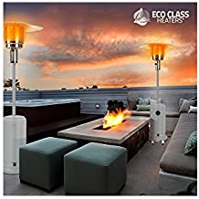 Thermic Dynamics Eco Class Heaters GH Estufa de Gas Exterior Gris 43x43x221 cm