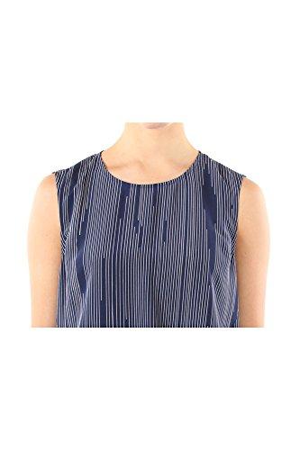 5151TO07975K01 Kenzo Hauts Femme Soie Bleu Bleu