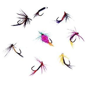 Fishing flies 4 pack by Boyz Toys