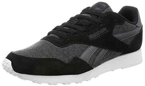 Reebok Herren Royal Ultra Laufschuhe, Schwarz (Black/Ash Grey/White), 44.5 EU
