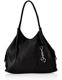 Fostelo Women's Handbag Black (FSB-392)