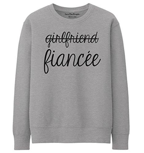 SaveThePeople - Sweat-shirt - Femme XL Gris