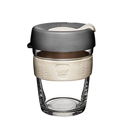 KeepCup Wiederverwendbarer Thermobecher, Reisebecher, glas, Chai, 12oz/340ml