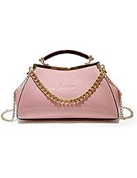 ab8d2a635451d Limotai Handbag Frauen Farbe Handtaschen Luxus Lackleder Kissen Handtasche  Kleine Kette Messenger Bag Mädchen