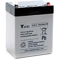 Yucel - Batería plomo AGM YUCEL Y2.9-12 12V 2.9Ah F4.8