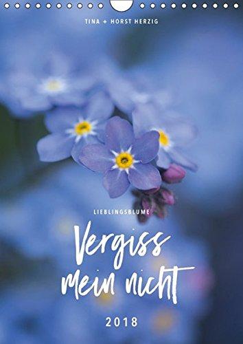 Lieblingsblume Vergissmeinnicht (Wandkalender 2018 DIN A4 hoch): Zwölf wunderschöne Fotos der kleinen Blume Vergissmeinnicht vereint in einem Kalender (Monatskalender, 14 Seiten ) (CALVENDO Natur)