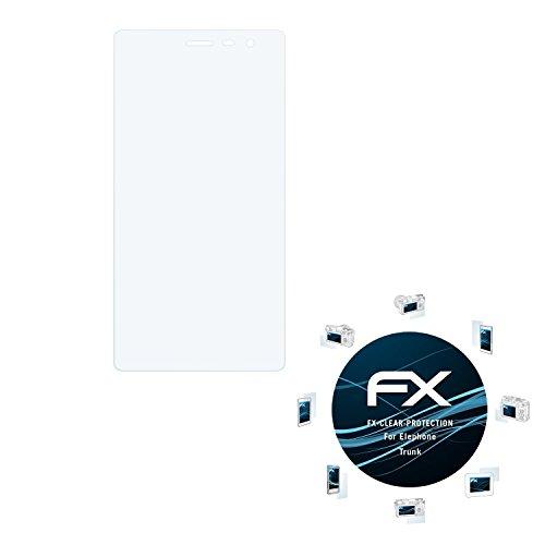 atFolix Schutzfolie kompatibel mit Elephone Trunk Folie, ultraklare FX Bildschirmschutzfolie (3X)
