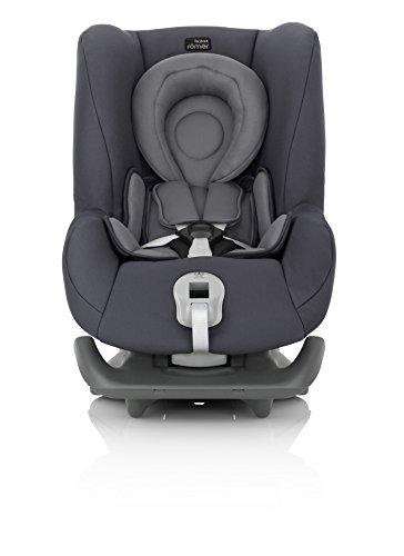 Britax Römer Autositz First Class Plus, Gruppe 0+/1 (Geburt – 18 kg), Kollektion 2017, storm grey