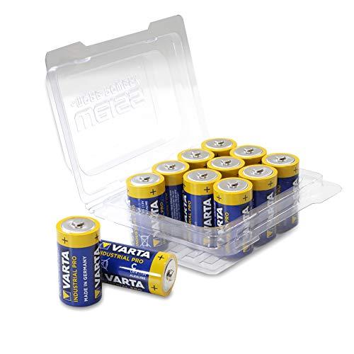 Varta 4014 refermable bébé / C / LR14 / MN1400 Alkaline Battery Industrial avec la boîte (12-pack) blanc