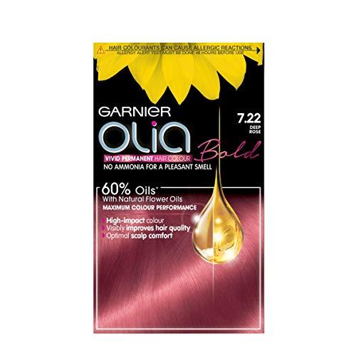 Garnier Olia Bold 7.22de profundidad rosa permanente tinte de pelo, 1 unidad
