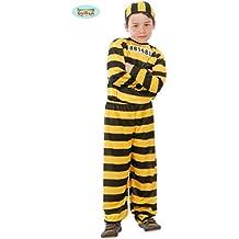 Disfraz de Presidiario para Niño - 10 a 12 años