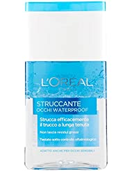 l'Oréal Paris Struccante Occhi Waterproof Strucca Efficacemente il Trucco a Lunga Tenuta - 125 ml