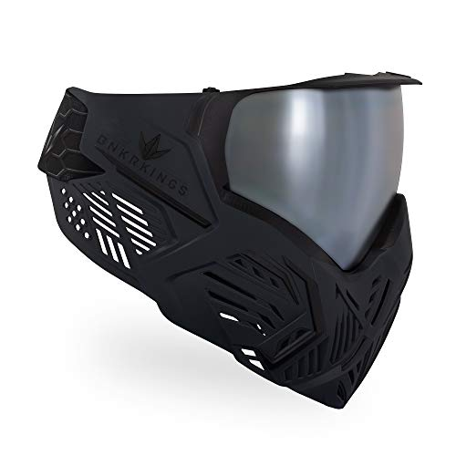 Bunkerkings CMD Paintball Brille/Masken, schwarz-Carbon, CMD -