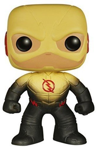 Funko 5404 DC – Sammelfiguren POP Vinylfigur: The Reverse Flash, Multi, ()