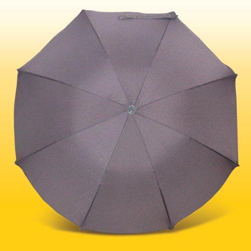 """Preisvergleich Produktbild Sonnenschirm """"Eisbrchen"""" in grau"""