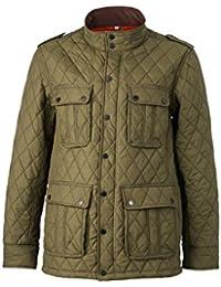 JAMES & NICHOLSON - veste doudoune matelassée - losanges - hiver - JN1072 - Homme