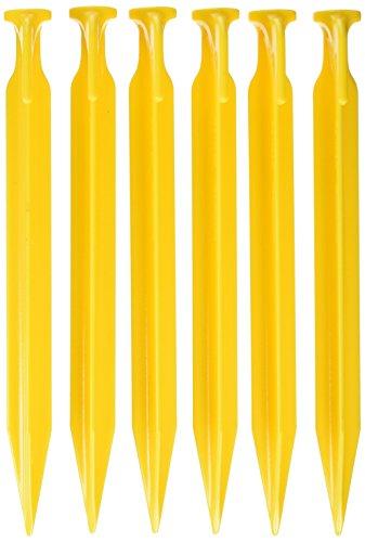 Coghlans Zelthering ABS, gelb Hering, 22 cm -