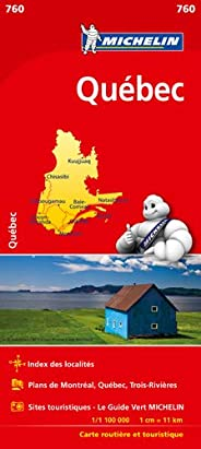 Carte NATIONAL Québec Michelin