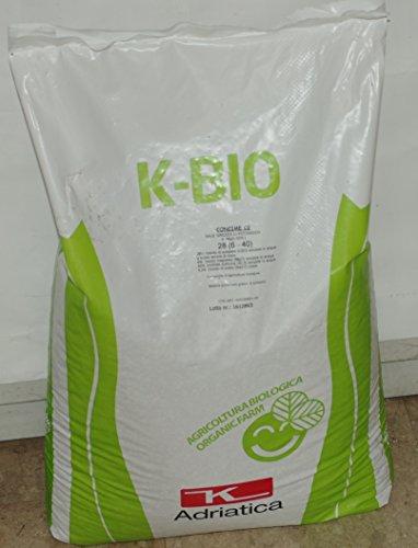 concime biologico k-bio ad alto titolo in potassio sacco da 25 kg
