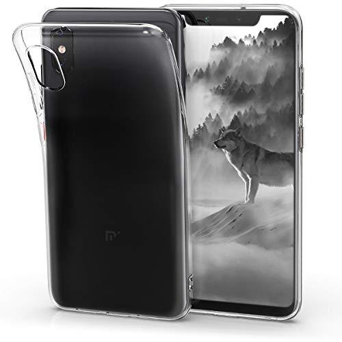 kwmobile Funda para Xiaomi Mi 8 Pro - Carcasa Protectora de TPU para móvil - Cover Trasero en Transparente