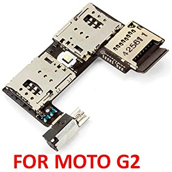anonymous Sim Card Memory Slot Jack Flex Cable Reader: Amazon in