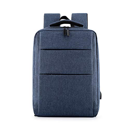 COMBFQY FH Laptop-Rucksack, 14-Zoll-Diebstahlsicherung Mit USB-Ladeanschluss-Rucksack Für
