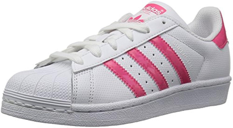 Adidas Originals Originals Originals Superstar scarpe da ginnastica Unisex per Bambini, Bianco (bianca Real rosa bianca), M Großes Kind | Eccellente valore  | Sig/Sig Ra Scarpa  f1ef3d