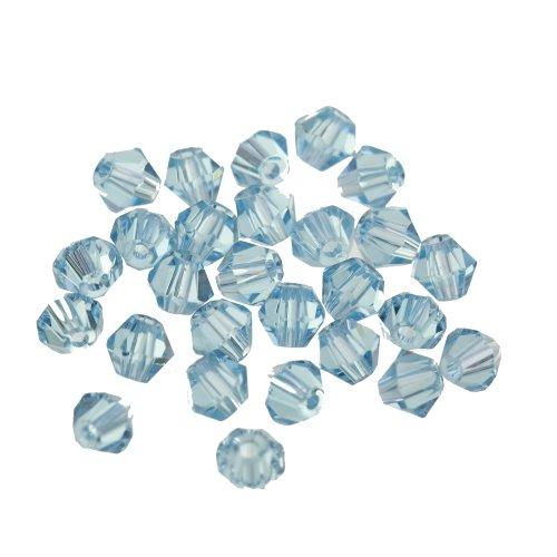 ilovediy-bicone-in-vetro-di-cristallo-confezione-da-100-perline-per-bigiotteria-10-x-3-mm-blu-lago