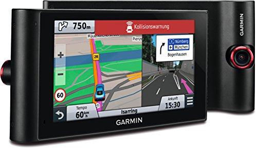 Garmin nüviCam LMT-D Navigationsgerät (lebenslange Kartenupdates, DAB+/SPL, Dash-Cam, (6 Zoll) Touch-Glasdisplay) - Garmin Nuvi Dash