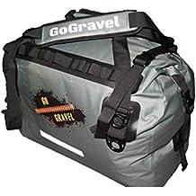 GoGravel Bolso de Lona Impermeable Little Karoo 40L para Turismo de Aventura en Moto