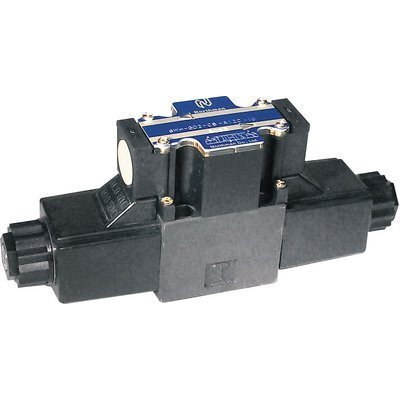 Northman Fluid Power Hydraulic Directional Control Valve - 10.7 GPM, 4500 PSI, 3-Position, Double Solenoid, Tandem Center Spool, 12 Volt DC Solenoids, Model# SWH-G02-C6-D12-10 by Northman Fluid Power
