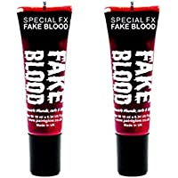 2 x Paintglow Fake Blood Halloween Fancy Dress Horror Costume Make Up  Vampire by PaintGlow b208e2357521