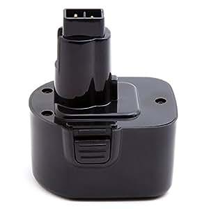 NX - Batterie visseuse, perceuse, perforateur, ... 12V 3Ah - DE9037 ; DC9071 ; DE9071 ; DE9