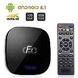 Android TV Box, A95X F1 Android 8.1 TV BOX 1GB RAM/8GB ROM Amlogic S905W Quad-Core Supporto 2.4Ghz WiFi 4K HDMI DLNA 3D Smart TV BOX