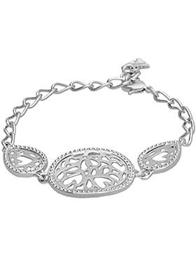 Guess Damen-Armband RIVIERA Edelstahl 20 cm-UBB61034-S