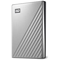 WD WDBC3C0020BSL-WESN My Passport Ultra Disque Dur Externe Portable USB-C  2 To Argenté