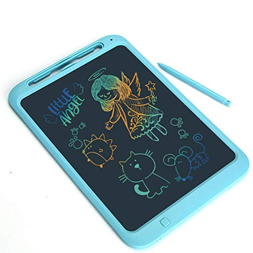 ktronische Schreibtafel Art Tablet Digital Memo Message Schwarzes Brett Kinder Schule BüRo KüChe 12 Zoll,Blue ()