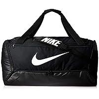 Nike Unisex-Adult Duffel Bag, Black/White - NKBA5966-10