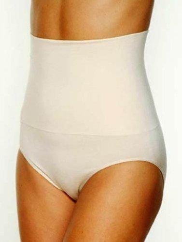 Undercover - Mutande modellanti da donna, a vita alta, senza cuciture, con funzione di sollevamento dei glutei Black XXL