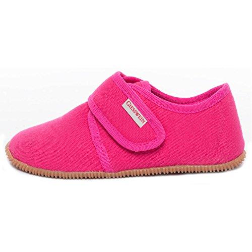 Giesswein Mädchen Senscheid Flache Hausschuhe, Pink (364 / Himbeer), 23 EU (Schuhe Himbeer-flache)