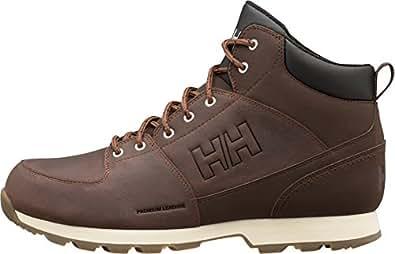Helly Hansen Tsuga, Chaussures de Randonnée Hautes Homme, Marron (New Wheat/Espresso/Nat 724), 43 EU