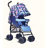 Baby-Kinderwagen Ultra Light Tragbares Auto Kann Sitzen Liegend Falten Neugeborenen Kinderwagen