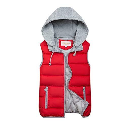 Nyuiuo Mode Frauen Herbst Winter Warme Mantel Weste Wattierte Jacke Damen Weste Weste Kurze Multicolor Warme Weste Frauen Winter Warme Zwei-Wege-Weste Outwear Mantel -