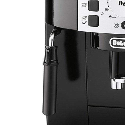 De'Longhi Magnifica S ECAM 22.110.B Kaffeevollautomat (Direktwahltasten und Drehregler, Milchaufschäumdüse, Kegelmahlwerk 13 Stufen, Herausnehmbare Brühgruppe, 2-Tassen-Funktion) schwarz - 8