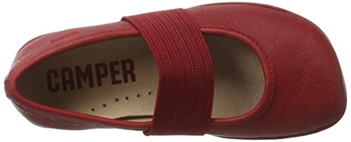 Camper Right, Ballerines Fille Rouge (Medium Red 091)