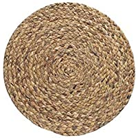 ASDHOI Posavasos Tabla Mantel /, Forma de ratón Ronda de cocina de lino de la armadura de aislamiento decoración resistente al calor Anti Slip Mat natural (Color : Calabash 18cm, Size : One Size)
